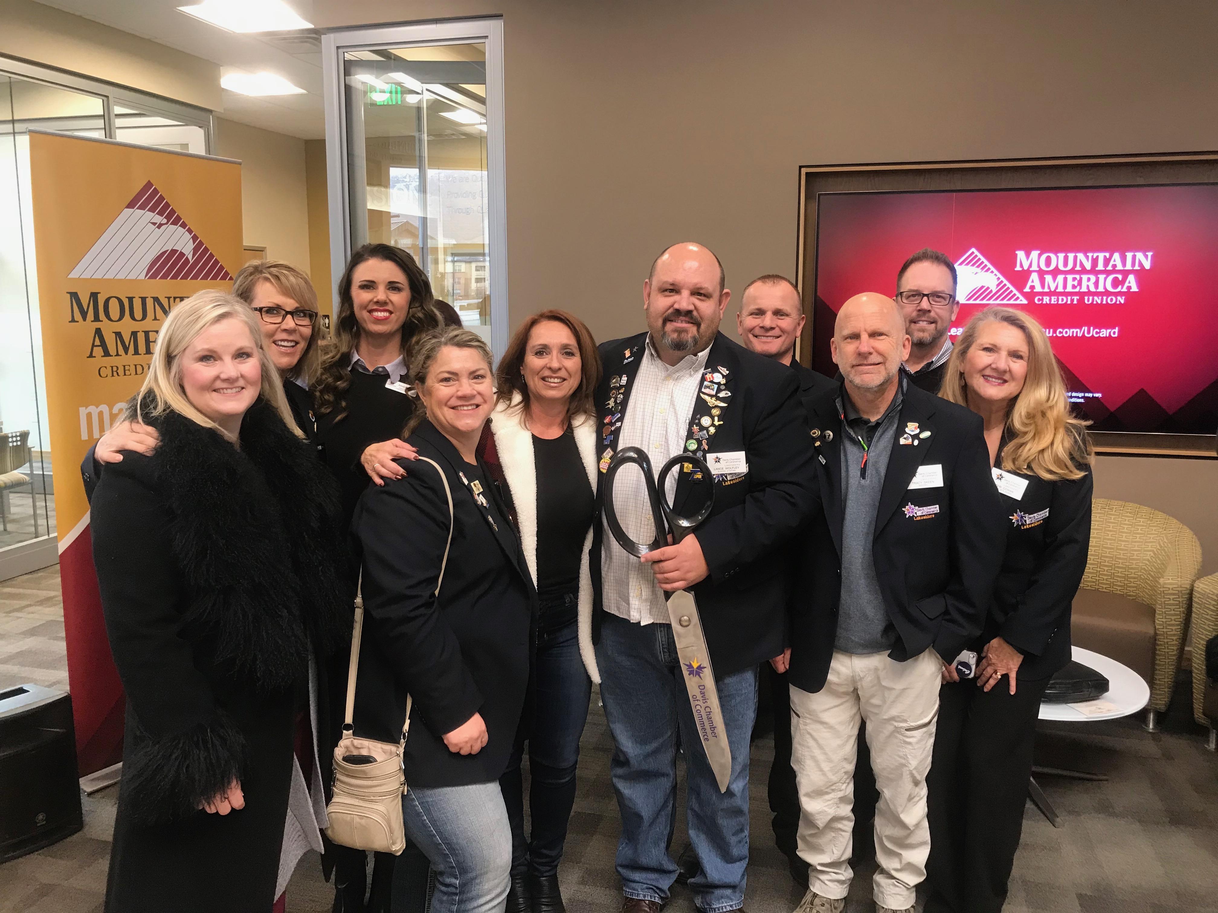 Mountain America Credit Union Ribbon Cutting - Davis County