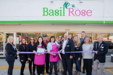 basil and rose